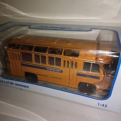 Модель коллекционная Автобус ПАЗ-672М   Деагостини   Масштаб 1:43