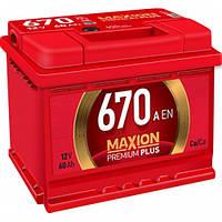 Аккумулятор Maxion Premium Plus 6 CT-60-670A EN