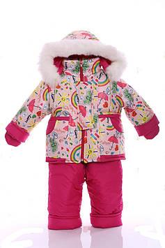 Зимний комбинезон детский Детские комбинезоны Детский комбинезон зимний Куртка и полукомбинезон зимний