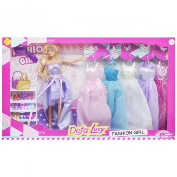 Кукла Defa Lucy & Misil в лиловом