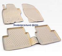 Коврики в салон VW Touareg 2002-2010 БЕЖ NorPlast автомобильные автоковрики резиновые в авто
