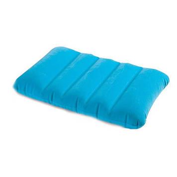 Надувная подушка велюровая Подушка прямоугольная надувная Надувная подушка для путишествий