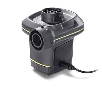 Электрический насос для надувания Intex 66634 Насос от сети Насос для надувания от прикуривателя