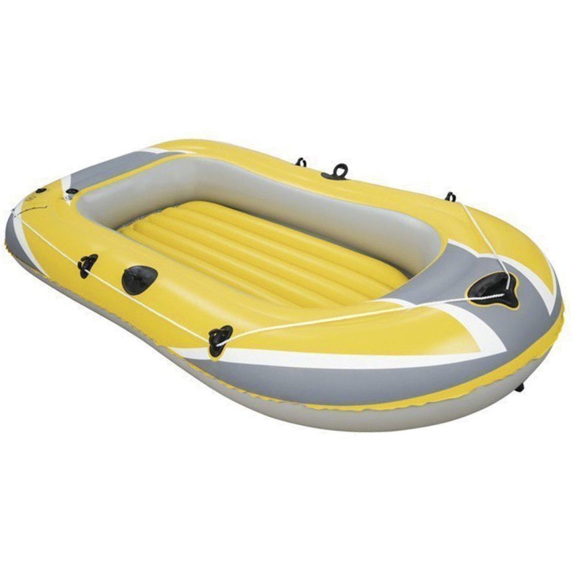 Одноместная надувная лодка Желтая надувная лодка Надувная лодка