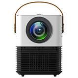 Мини светодиодный проектор DL-WL7 андроид WIFI / проектор для домашнего кинотеатра с HDMI USB WiFi Android, фото 5