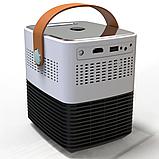 Мини светодиодный проектор DL-WL7 андроид WIFI / проектор для домашнего кинотеатра с HDMI USB WiFi Android, фото 6