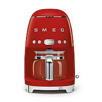 Кофеварка капельная Smeg красная DCF02RDEU, фото 1