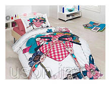 Комплект постельного белья сатин 3d First Choice полуторный размер Lovable