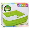 Детский надувной бассейн Intex (85*85*23 см) Детский бассейн Бассейн для детей Надувной бассейн, фото 2