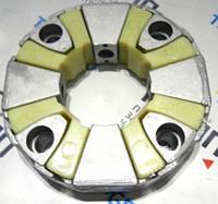 110H Эластичная соединительная муфта пластик+мет в СБ 215x110 для экскаваторов CAT, Hitachi, Hyundai