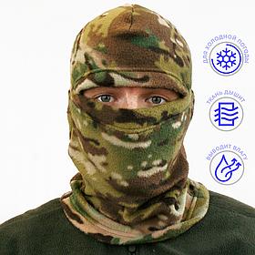 Шапка-маска LeRoy Балаклава Мультикам (зимняя, флис)