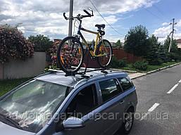"""Багажник велосипедный - на крышу - 1 велосипед-разборная стальная рама-без замка  MAX=18kg""""Кенгуру"""""""