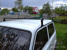 """Багажник на водосток - 140см - """"Кенгуру"""" - """"UNI"""" (НИВА,Волга и т.д)"""