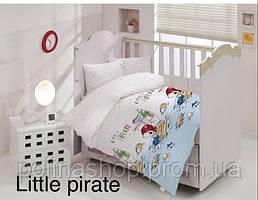 """ОРИГИНАЛ  Детский комплект постельного белья в кроватку ALTINBASAK """"Little pirate"""" Турция"""