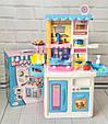 Кухня детская с циркуляцией воды ГОЛУБАЯ арт. 688-1-2, фото 3