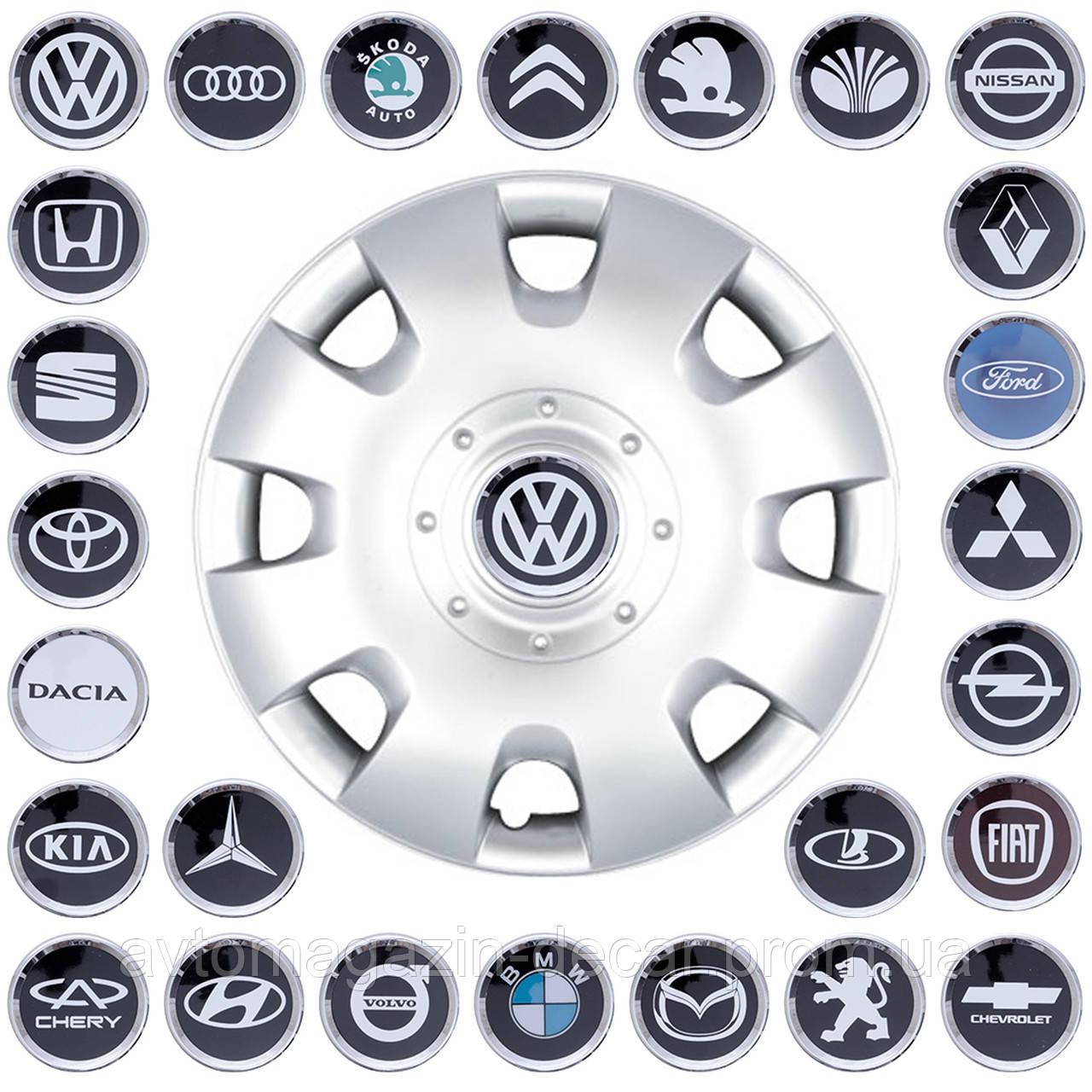 """Колпаки """"14"""" (SKS-209) + эмблемы на выбор (VW Caddy. Polo)"""