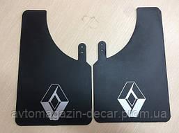 """Брызговики """"Renault"""" малые (2шт) """"Speed Master"""" (Логотип без надписи) (10шт/уп)"""