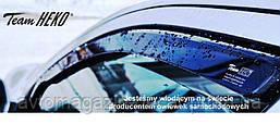 """Ветровики Audi A6 (C6) 04-11 4D полный """"HEKO"""" 10217"""