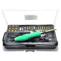 ZD-972G набор для выжигания, паяльник, 26 наконечников Zhongdi