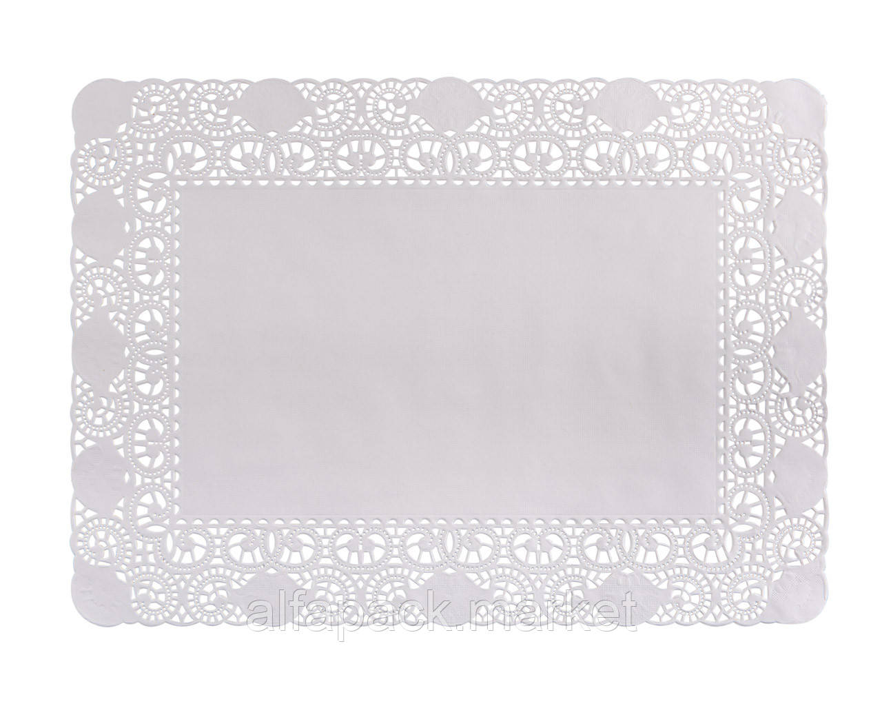 Прямоугольная ажурная салфетка 210*300 (100 шт в упаковке)