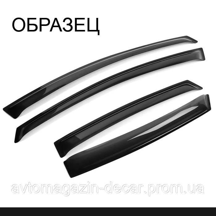 """Ветровики Hyundai Accent/Solaris 17- SD П/К 4шт клей """"Anv-Air"""""""