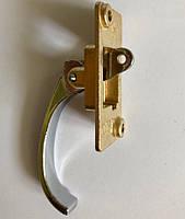 Ручка двер.внутр. (крючек) метал  Турция  SYP 08 - цельно-литая ручка - утолщенная