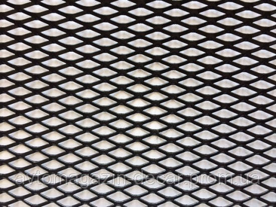 Сетка декоративная №4 100х20см черная РОМБ (Elegant) без упаковки  511024/1   (100шт/уп)