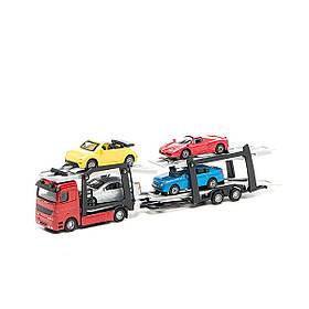 Игровой набор автоперевозчик Технопарк 1:32