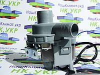 Насос сливной, помпа для стиральной машины сатурн (saturn) PX1-40A,  30W