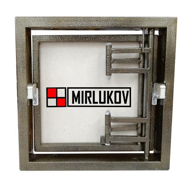 Люк для счетчиков под плитку 300х300 Нажимной (ШхВ)