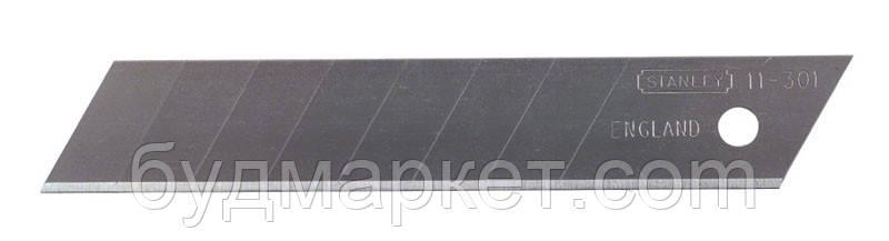 Леза змінні з отламывающими сегментами STANLEY: M = 18 мм. 10 (шт / уп.)