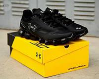 Мужские кроссовки Under Armour Scorpio Running shoes black/White (черно-белые) 435TP