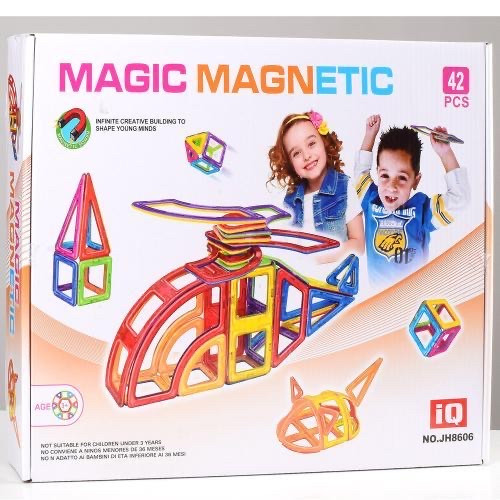 Магнітний конструктор Magic Magnetic (42 деталі) арт. 8606