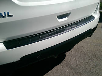 Защитная накладка на задний бампер Nissan X-Trail T32 (2014-2020)
