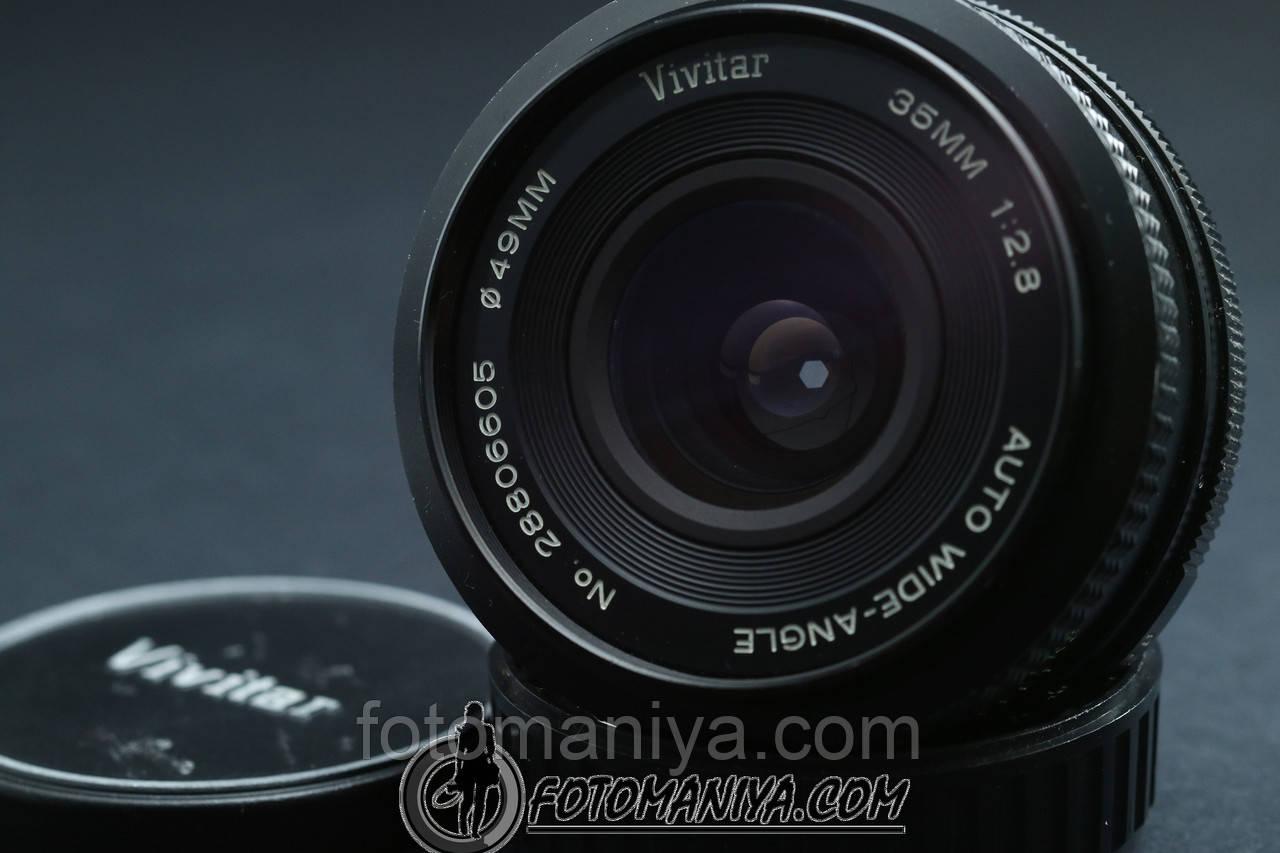 Vivitar wied-angle 35mm f2.8 для Pentax K