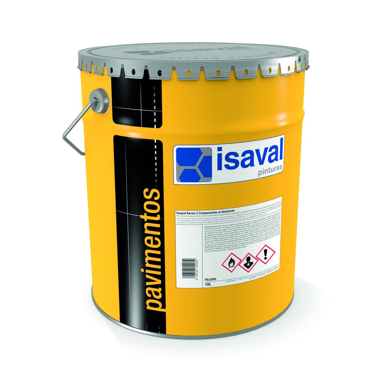 Полиуретановый лак для пола Дуэполь ISAVAL, матовый 4л≈48 м²/слой