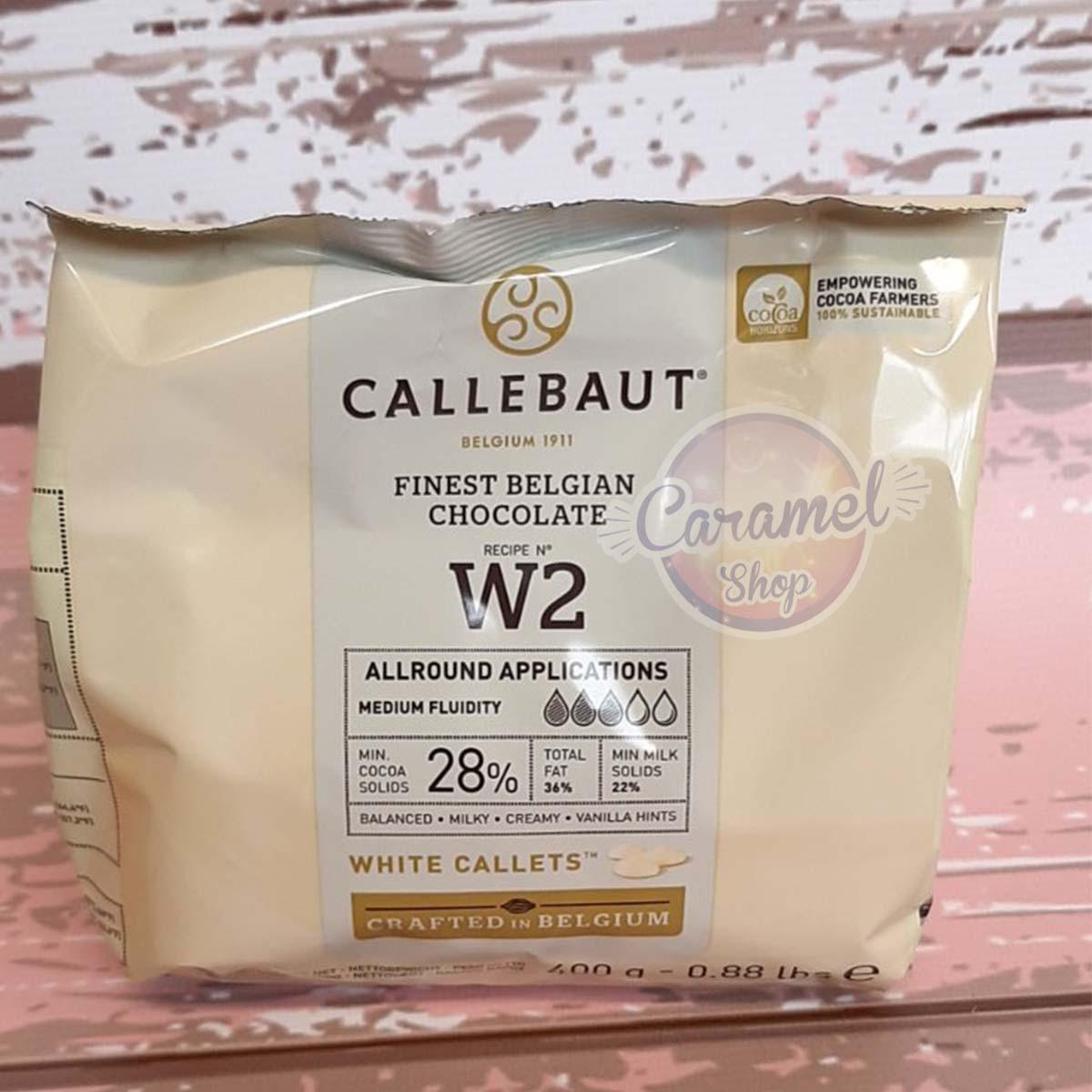Бельгийский шоколад Barry Callebaut Белый 28% (400 грамм)