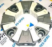 160H Эластичная соединительная муфта пласт+мет в СБ 255x134 для экскаваторов Hyundai, Doosan, CAT