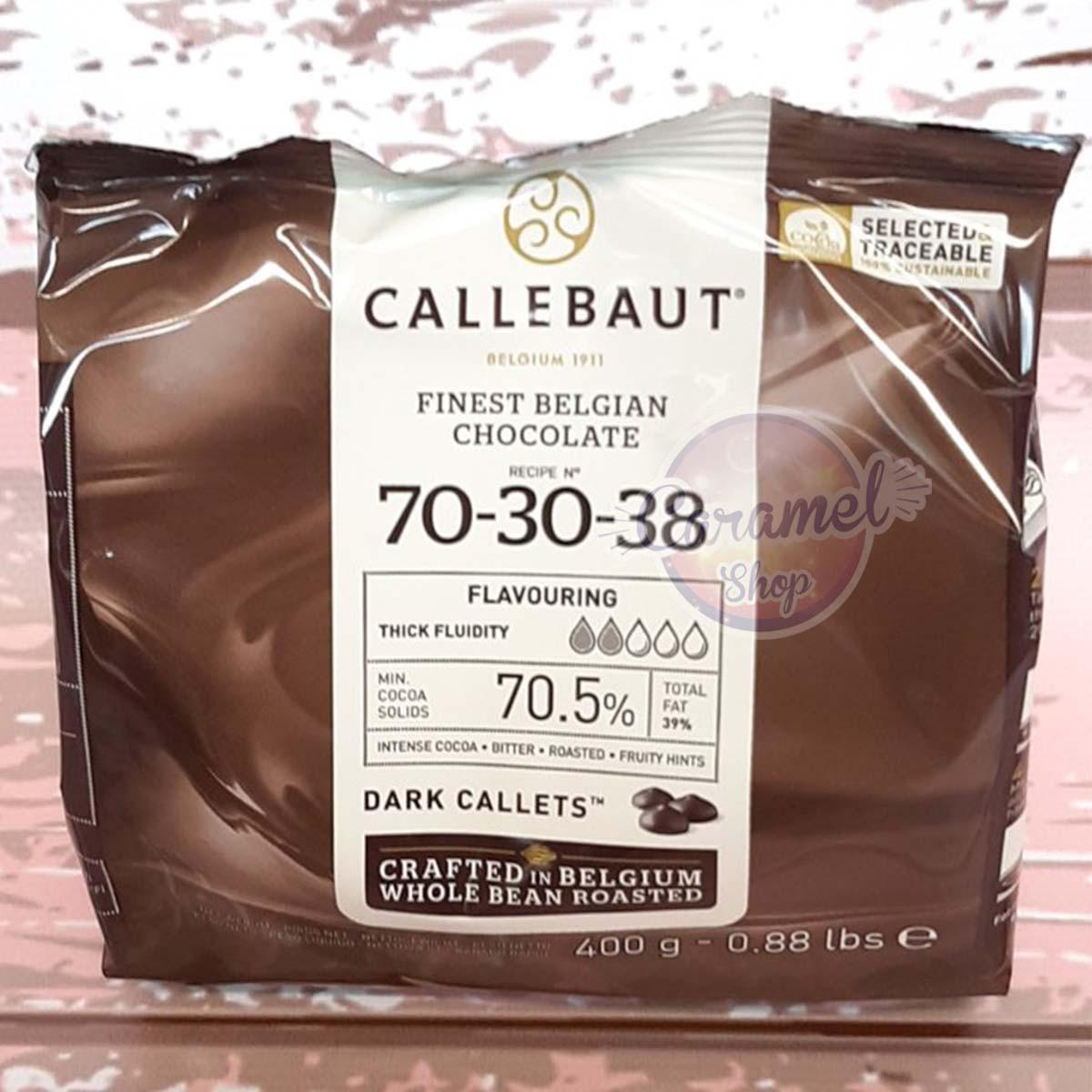 Бельгийский шоколад Barry Callebaut Черный 70,5% (400 грамм)