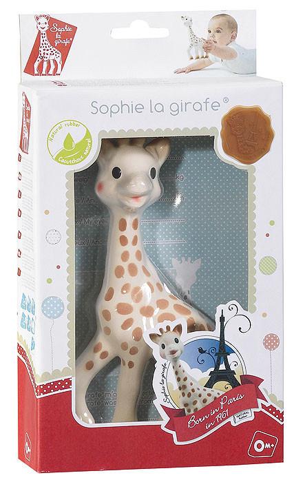 Грызунок - прорезыватель для зубов жираф Софи большой, Vulli