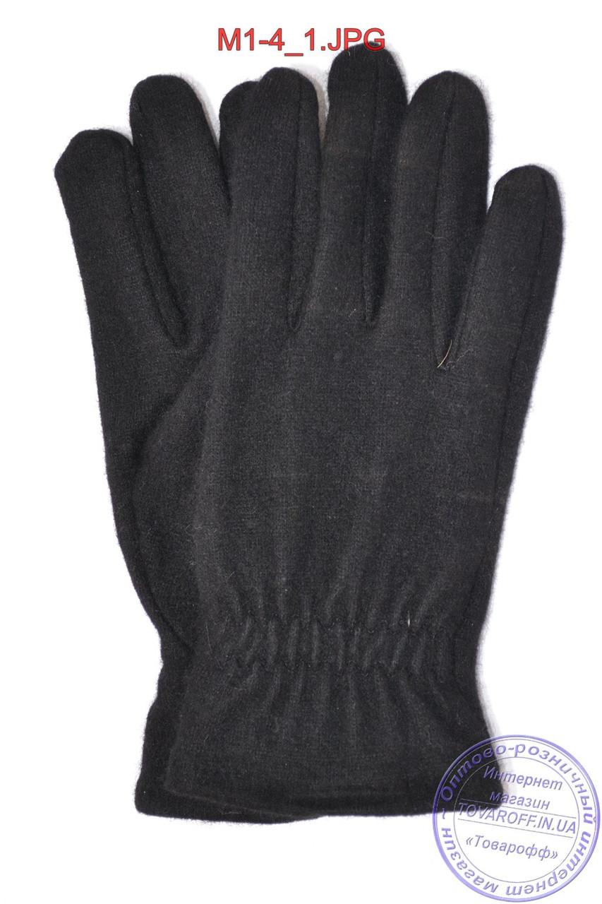 Мужские кашемировые перчатки без подкладки - M1-4