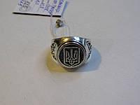 """Мужское серебряное кольцо """"Тризуб"""""""