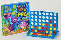 Детская развивающая настольная игра 4 в ряд, 7231, для детей от 4 лет