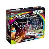 Магічна 3D дошка для малювання Magic Drawing Board   Дошка для малювання 3д, фото 8
