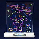 Магічна 3D дошка для малювання Magic Drawing Board   Дошка для малювання 3д, фото 3