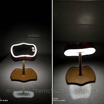 Зеркало с подсветкой и подставкой Mirron Lamps, фото 2