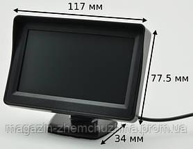 """Монитор для камеры заднего вида 4,3"""" 4088, фото 2"""