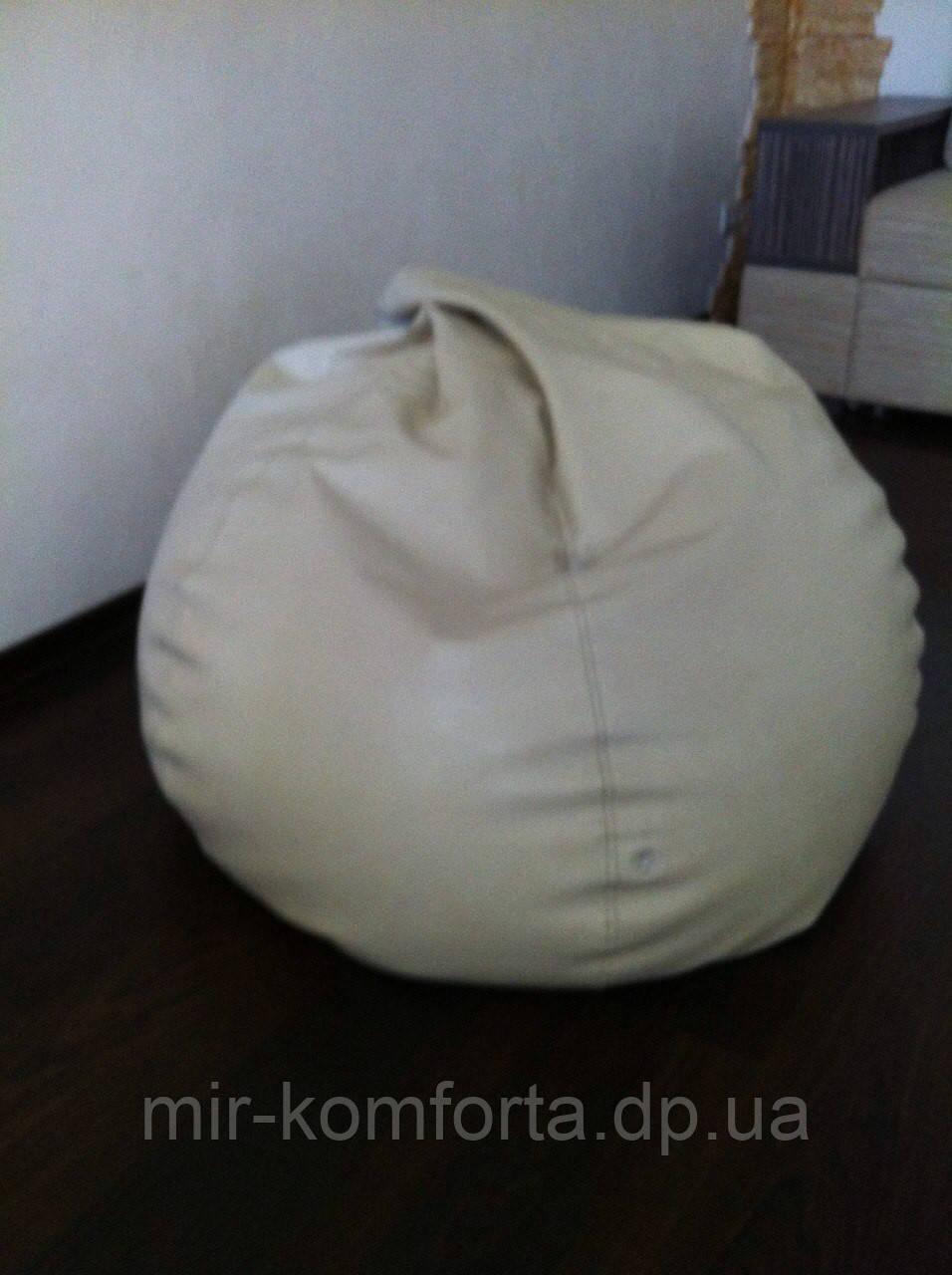 Перетяжка бескаркасной мебели