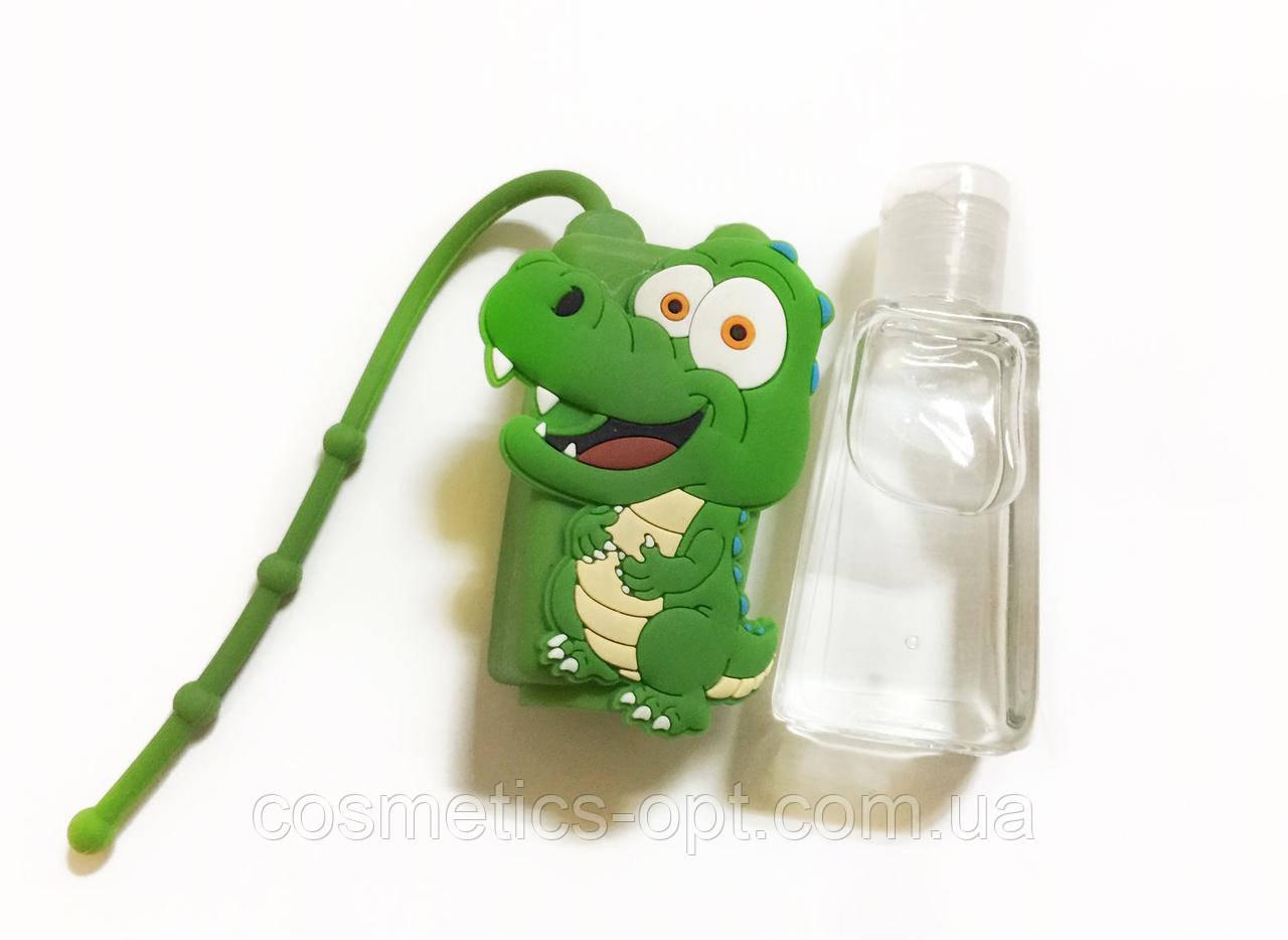 Санитайзер для рук в съемном чехле Дракоша, 25 ml
