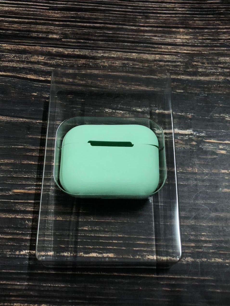 Чехол Baseus на AirPods Pro №50 Мелисса, силиконовый